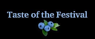 Taste of the Festival